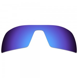 eBosses Polarized Replacement Lenses for Oakley Oil Rig Sunglasses - Dark Blue