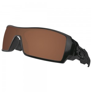 eBosses Polarized Replacement Lenses for Oakley Oil Rig Sunglasses - Earth Brown