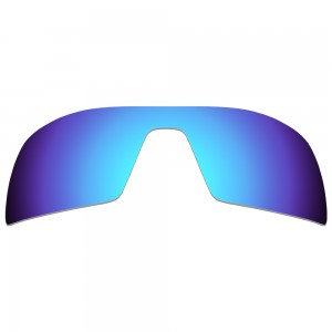 eBosses Polarized Replacement Lenses for Oakley Oil Rig Sunglasses - Ice Blue