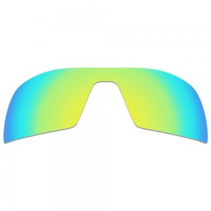 eBosses Polarized Replacement Lenses for Oakley Oil Rig Sunglasses - 24K Gold