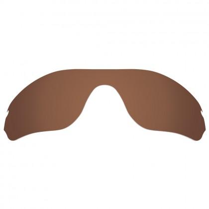 eBosses Polarized Replacement Lenses for Oakley Radar Edge Sunglasses - Earth Brown