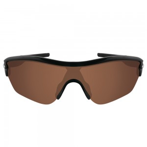 eBosses Polarized Replacement Lenses for Oakley Radar Edge Sunglasses - Earth Brown