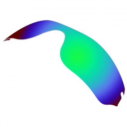 eBosses Polarized Replacement Lenses for Oakley Radar Edge Sunglasses - Emarald Green