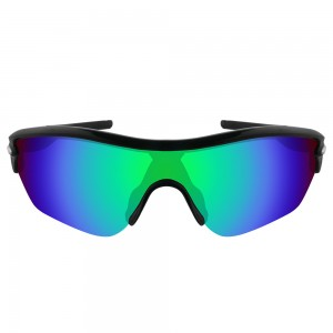 eBosses Polarized Replacement Lenses for Oakley Radar Edge Sunglasses - Emarald Green