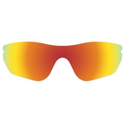 eBosses Polarized Replacement Lenses for Oakley Radar Edge Sunglasses - Fire Red