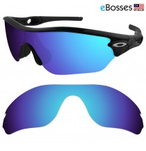 eBosses Polarized Replacement Lenses for Oakley Radar Edge Sunglasses - Ice Blue