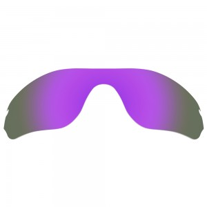 eBosses Polarized Replacement Lenses for Oakley Radar Edge Sunglasses - Violet Purple