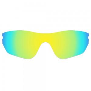 eBosses Polarized Replacement Lenses for Oakley Radar Edge Sunglasses - 24K Gold