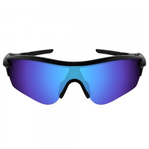 eBosses Polarized Replacement Lenses for Oakley RadarLock Path - Dark Blue