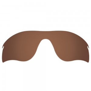 eBosses Polarized Replacement Lenses for Oakley RadarLock Path - Earth Brown