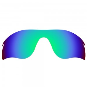 eBosses Polarized Replacement Lenses for Oakley RadarLock Path - Emarald Green
