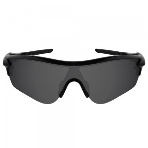 eBosses Polarized Replacement Lenses for Oakley RadarLock Path - Solid Black