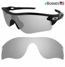 eBosses Polarized Replacement Lenses for Oakley RadarLock Path - Titanium