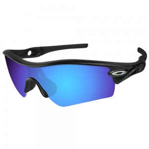 eBosses Polarized Replacement Lenses for Oakley Radar Path - Dark Blue