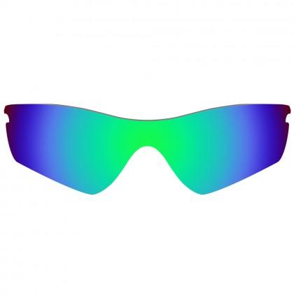 eBosses Polarized Replacement Lenses for Oakley Radar Path - Emarald Green