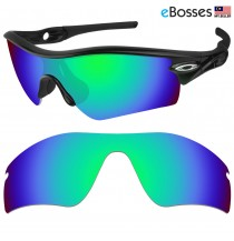 eBosses Polarized Replacement Lenses for Oakley Radar Path - Emarald Green