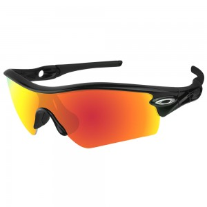 eBosses Polarized Replacement Lenses for Oakley Radar Path - Fire Red