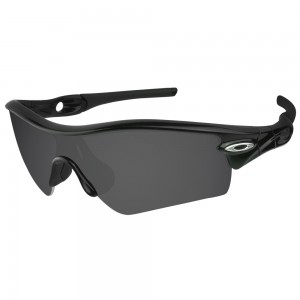 eBosses Polarized Replacement Lenses for Oakley Radar Path - Solid Black
