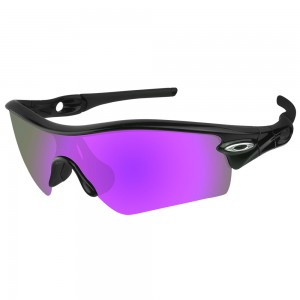 eBosses Polarized Replacement Lenses for Oakley Radar Path - Violet Purple