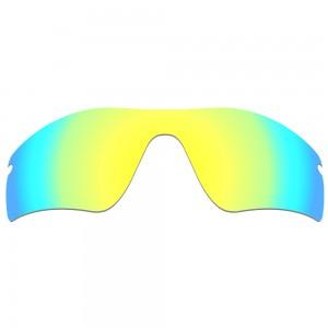 eBosses Polarized Replacement Lenses for Oakley Radar Path - 24K Gold