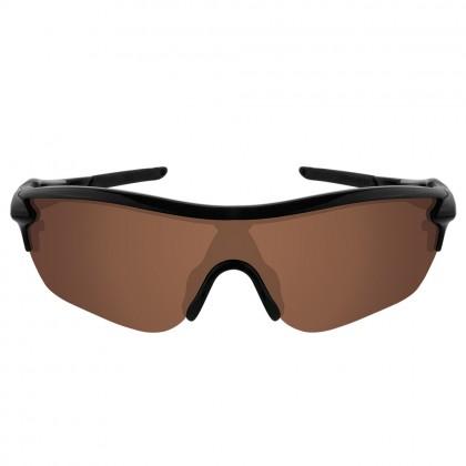 eBosses Polarized Replacement Lenses for Oakley RadarLock Edge Sunglasses - Earth Brown