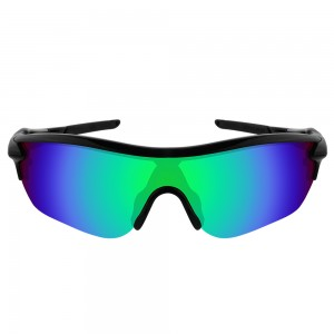 eBosses Polarized Replacement Lenses for Oakley RadarLock Edge Sunglasses - Emarald Green