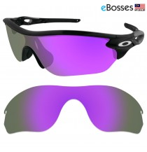 eBosses Polarized Replacement Lenses for Oakley RadarLock Edge Sunglasses - Violet Purple