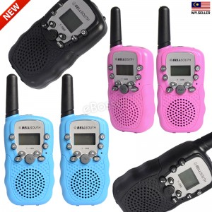 Walkie Talkie T-388 0.5W UHF Auto Multi-Channels Mini Radios