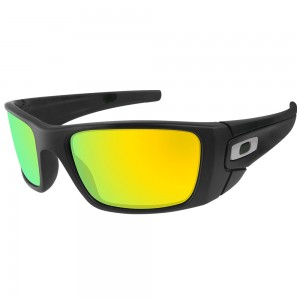 eBosses Polarized Replacement Lenses for Oakley Fuel Cell - 24K Gold