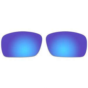 eBosses Polarized Replacement Lenses for Oakley Fuel Cell - Deep Blue