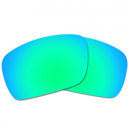 eBosses Polarized Replacement Lenses for Oakley Fuel Cell - Emerald Green