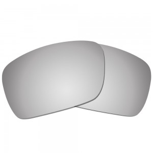 eBosses Polarized Replacement Lenses for Oakley Fuel Cell - Titanium
