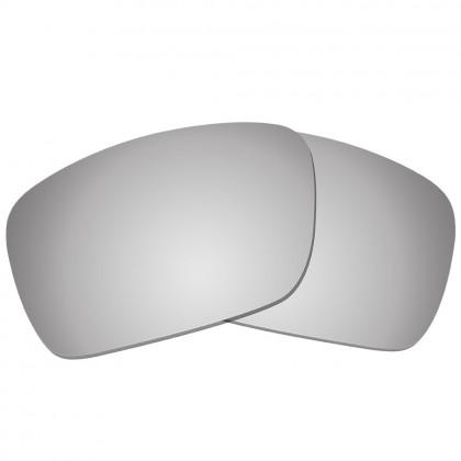 eBosses Polarized Replacement Lenses for Oakley Fuel Cell - Titanium