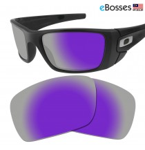 eBosses Polarized Replacement Lenses for Oakley Fuel Cell - Violet Purple