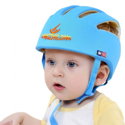 eBosses Infant Baby Toddler Soft Safety Helmet Head Protection Head Protective Cap Adjustable