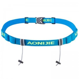 2018 Aonijie Men Women Marathon Running Race Belt With Elastic Canvas Number Belts