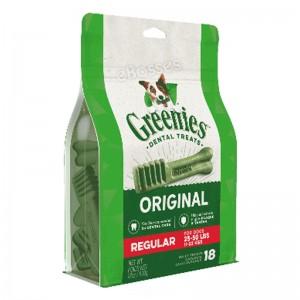 New Greenies Original Dental Treats Teenie 65pc, Petite 30pc, Regular 18pc & Large 12pc for Dog