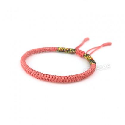 Handmade Knots Lucky Rope Bracelet by Tibetan