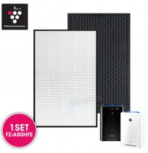 Sharp FZ-A50HFE Replacement Air Purifier HEPA & Deodorizing Filter for KC-A50E