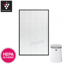 Sharp FZ-F40SFE Replacement Air Purifier HEPA Filter for FP-F40L, FP-FM40
