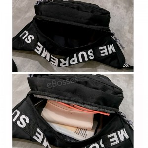 Travel Pouch Waist Packs Supreme with Adjustable Waistband-Smartphone Money Coins Keys Passport Holder
