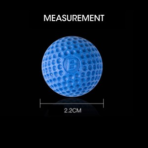 Rounds Compatible Gun Bullet Balls For Nerf Rival Apollo Zeus Refill Toy (Blue, 50 pcs)