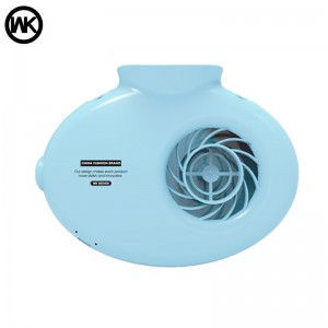 Genuine WK Design Creative Neck Hand Portable Rechargeable Handheld Cooling Fan WT-F10