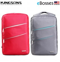 New Kingsons KS3037W 14.1inch Laptop Backpack Notebook Bag with Earphone Hole