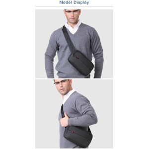 New 2018 Kingsons Small Crossbody Bags for Men Women Messenger Bags Casual Fashion Waist Pack
