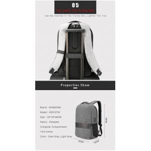 2018 Kingsons Backpack Bag For Laptop 15.6inch KS3187