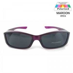 TOP GRADE UV Protection FitOver Overlap Polarized Sunglasses Unisex (DY016)