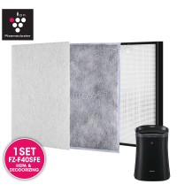 AIRPRO for Sharp FZ-F40SFE Replacement Air Purifier HEPA & DEODORIZING Filter for FPFM40LB