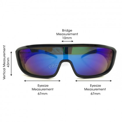 TOP GRADE UV PROTECTION FITOVER OVERLAP POLARIZED SUNGLASSES UNISEX (DY043)