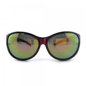 Top Grade UV Protection Fitover Overlap Polarized Sunglasses Women (DY045)